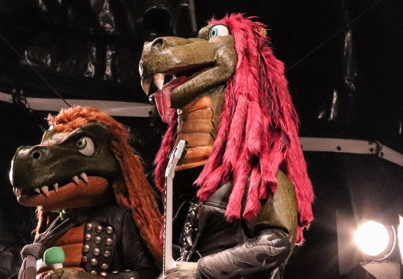 Mr. Heavysaurus und Riffi Raffi