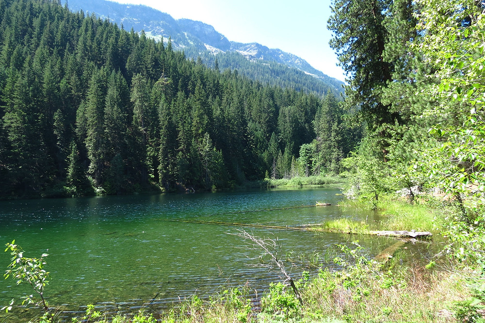 A view of Hidden Lake by Lake Wenatchee