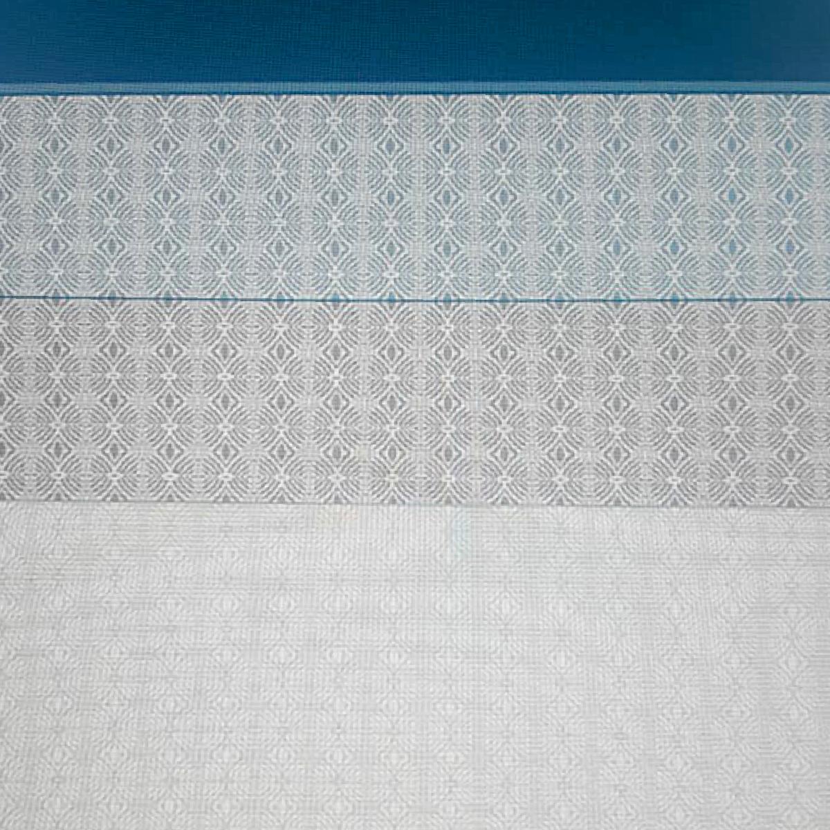 Figuras azul con gris