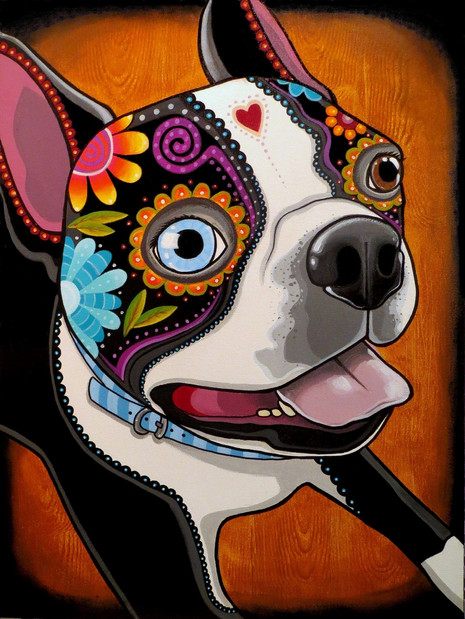 """Day of the Dog 18 x 24"""" *Sold*"""
