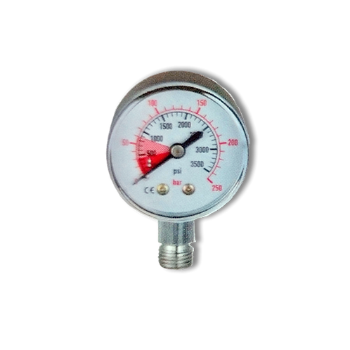 Manometer for high pressure