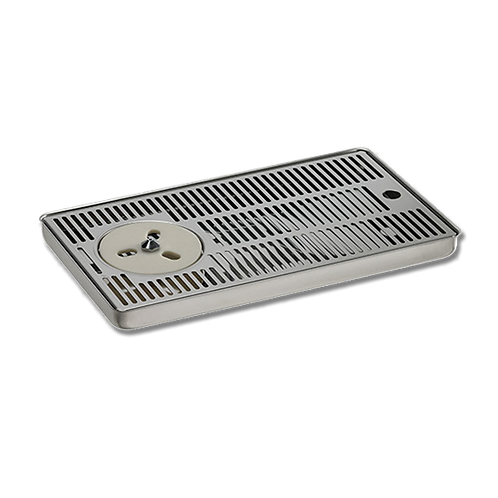 Drip Tray 24 X 42 cm with rinser