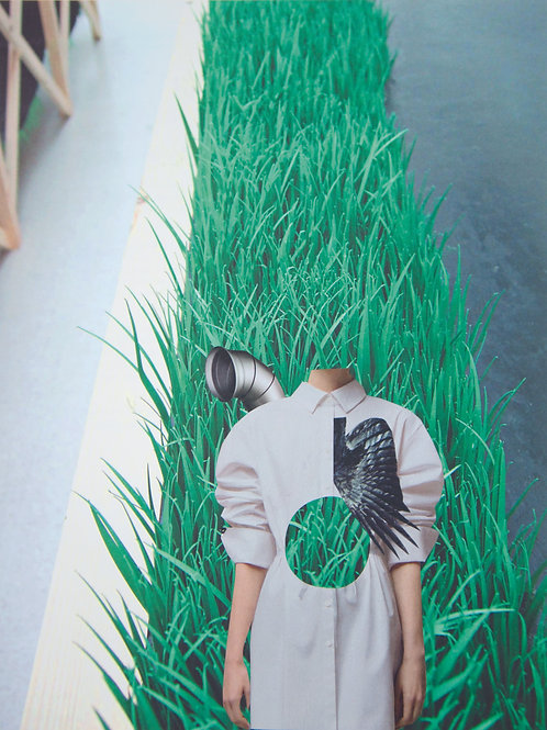 A4 Print- 'Breathe'