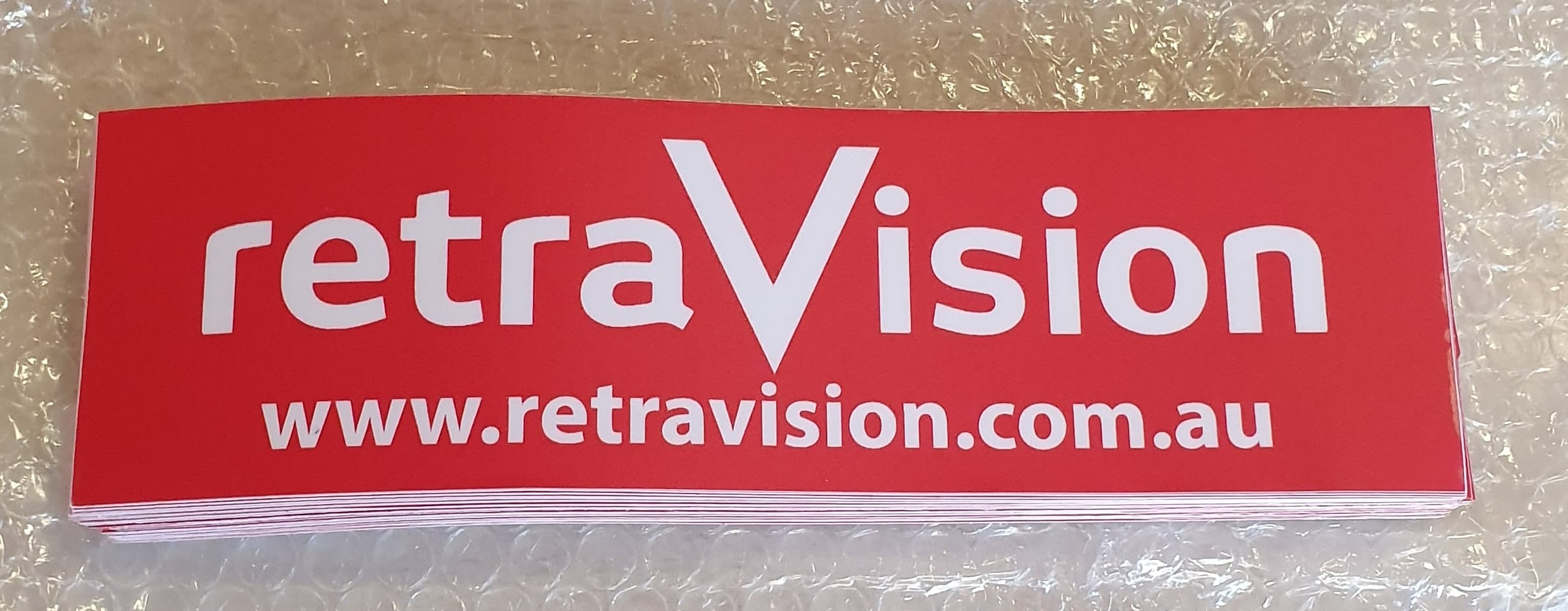 Retravision Bumper Sticker
