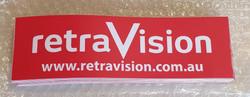 Retravision Bumper Sticker