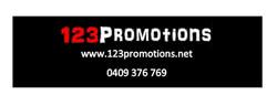 Bumper sticker 123