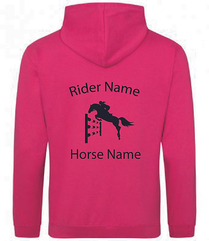 Personalised Showjumping Horse Hoodie