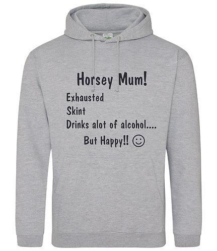 Horsey Mum  Hoodie