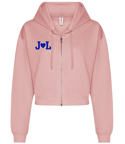 Initial's Cropped Hoodie