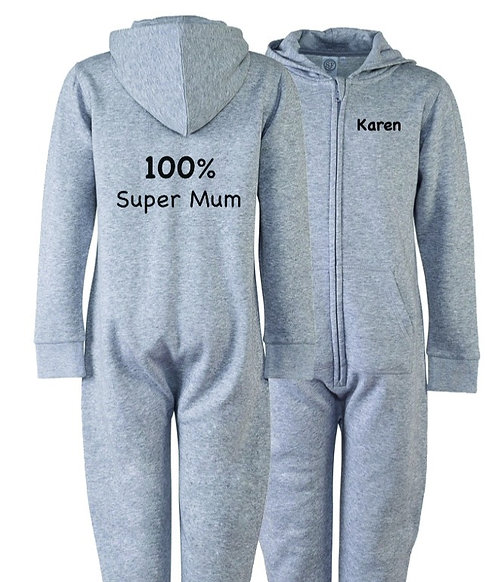 Personalised Super Mum Onesie