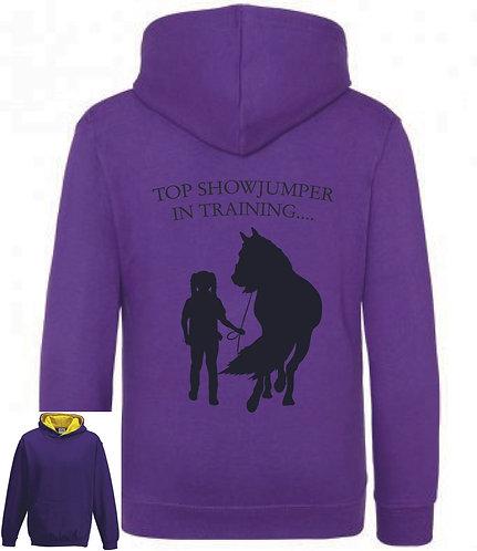 Top showjumper Horse Hoodie