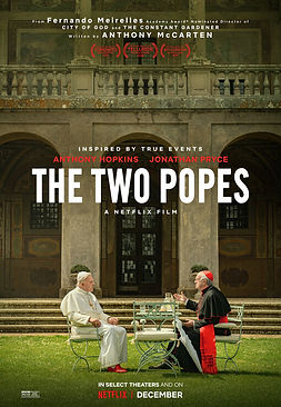 The Two Popes REVIEW | crpWrtes