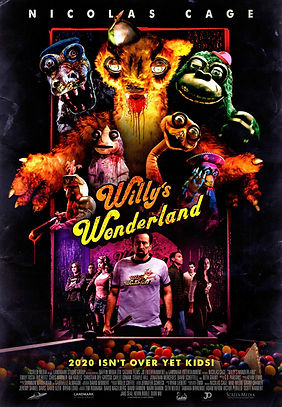 Willy's Wonderland (2021) MOVIE REVIEW | CRPWrites