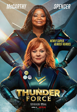 Movie Review: 'Thunder Force' (2021) | CRPWrites