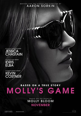 Molly's Game (2018) MOVIE REVIEW | CRPWrites