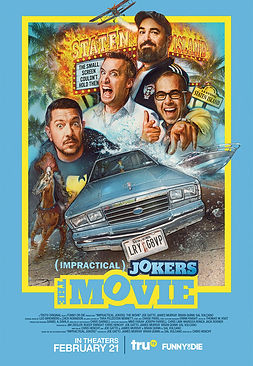 Impractical Jokers: The Movie REVIEW | crpWrites