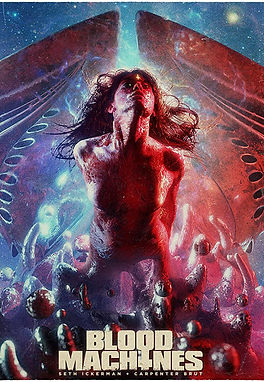 Blood Machines (2020) Shudder Original Experience REVIEW | crpWrites