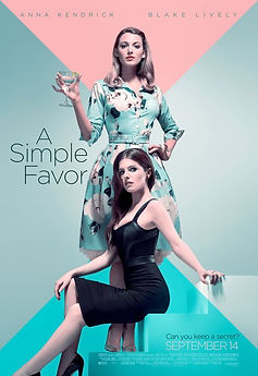 """REVIEW: """"A Simple Favor""""   crpWrites"""