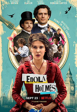 Enola Holmes (2020) MOVIE REVIEW | crpWrites