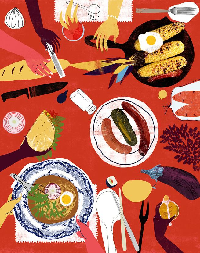 table cooking mashkaman