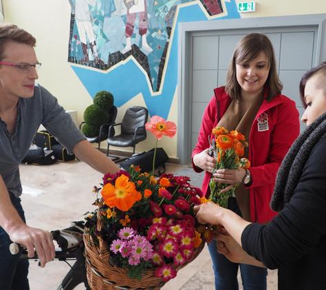 Fotoshoot: Erfurt macht sich schick machen für die BUGA