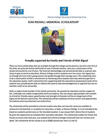 Kiah Rignall Memorial Scholarship 2021-22.jpg