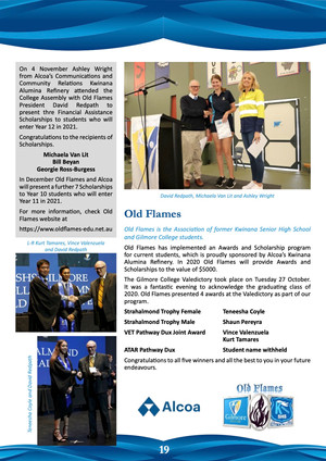 Gilmore College Term 4 News