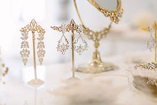 Bridal hair accessories: bridal jewellery by Ilieana George Couture