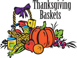 Thanksgiving Baskets 2017