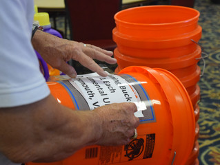 Flood Buckets for Hurricane Relief