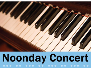 Fall 2017 Noonday Concert Series