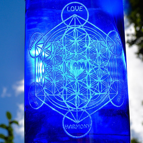 Ascension Alchemy Blue Bottle
