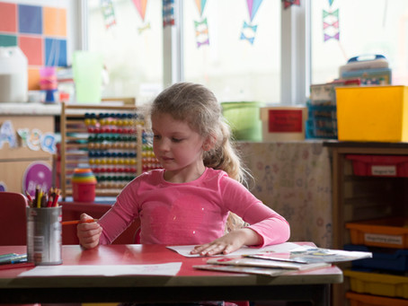 Zoom sur la classe des petits