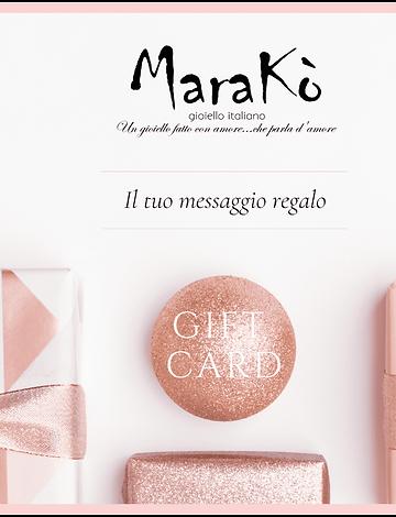 eGIFT CARD personalizzata