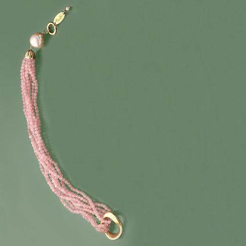 Fascia quarzo rosa diamond