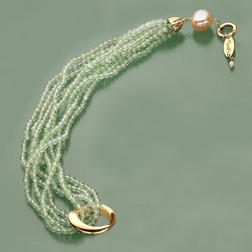 Fascia quarzo verde chiaro diamond