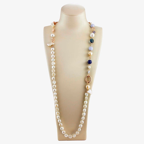 collana scomponibile blu