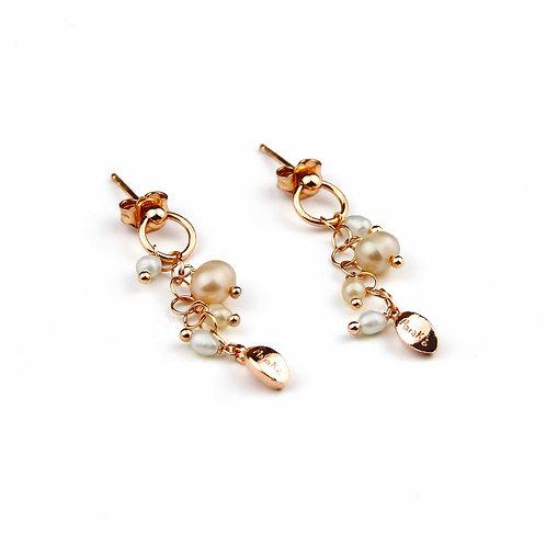 Orecchini perle coltivate - Grapes