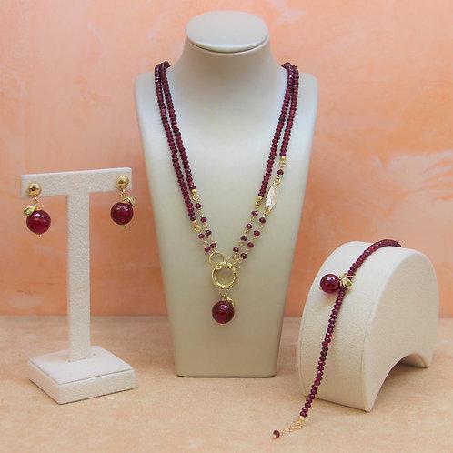 Gioielli agata ruby - Collezione Le Meline