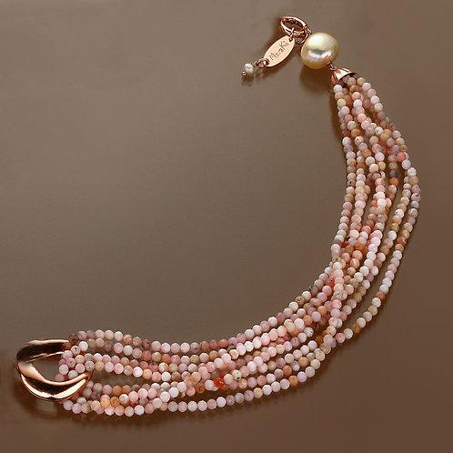 Fascia opale rosa diamond