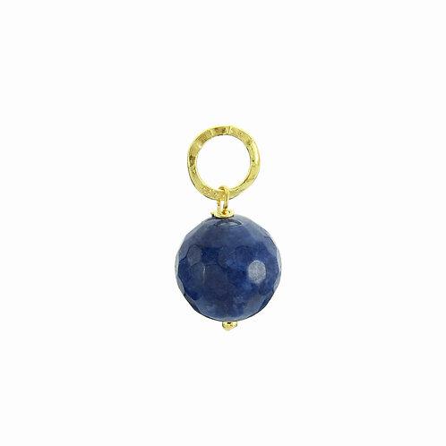Ciondolo Moonlight agata blu zaffiro