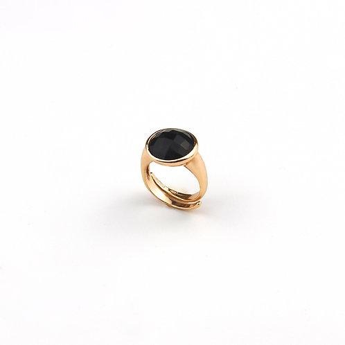 anello pietra nera