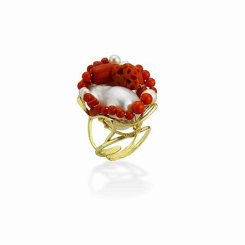 anello corallo