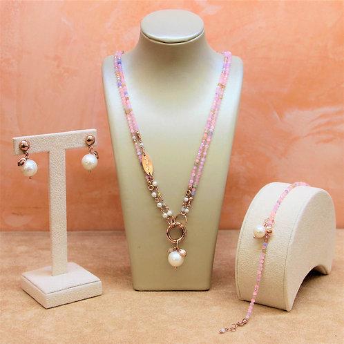 Gioielli acquamarina multicolor diamond e perle - Collezione Le Meline