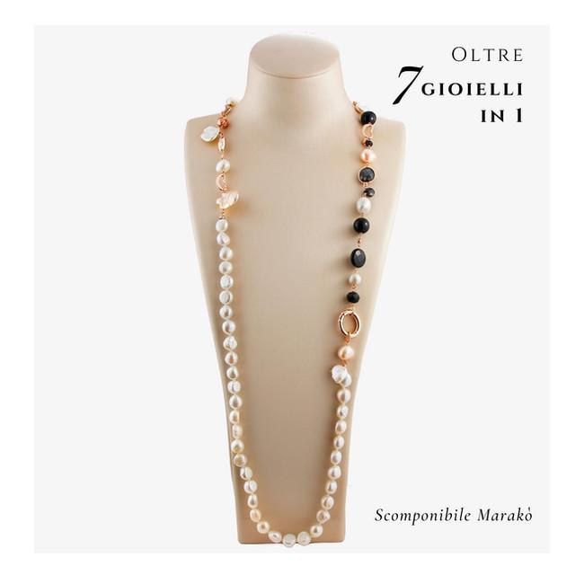oltre 7 gioielli in 1 - Collana Scomponi