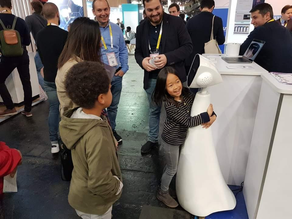 Robin the Robot at Viva Technology 2019 in Paris