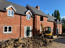 Progress at The Cross Keys, Turnditch as the properties go on the market.