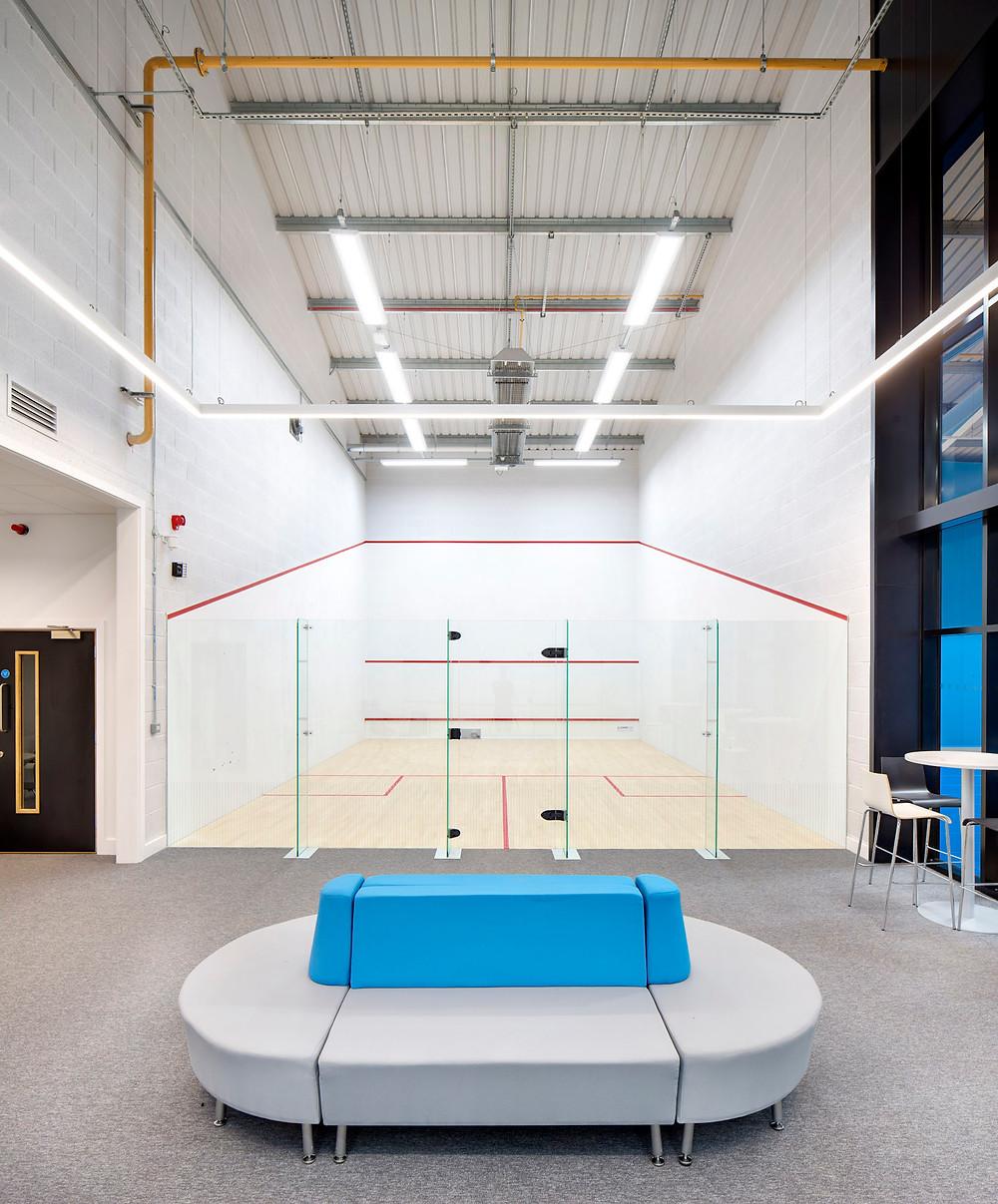 Repton School Squash Courts