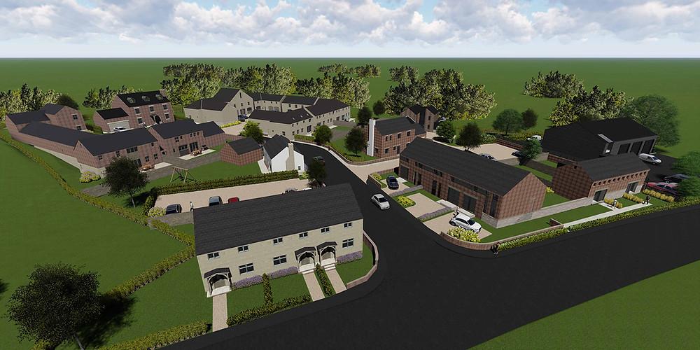 former Bowbridge Garage Site housing development on behalf of CWC Group.