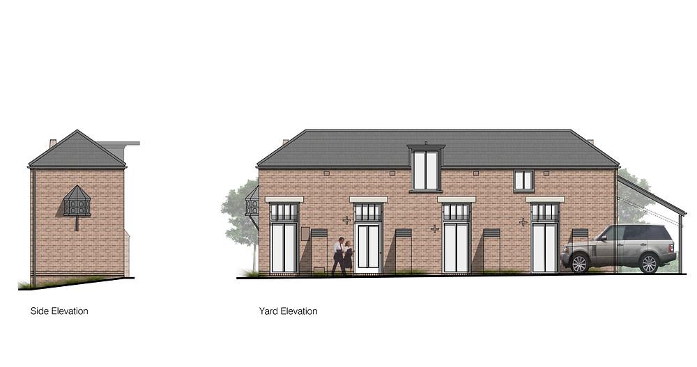 Barn Conversion, Quarndon. Matthew Montague Architects.